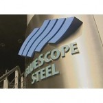 Bluescope Steel shares down