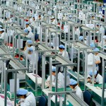 China factory output at five-month high