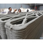 Chinese company 3D prints 10 houses in a day from recycled material