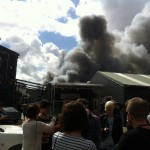 Sydney factory fire contained
