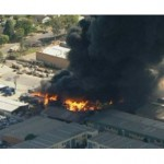 Factory fire in South-West Sydney