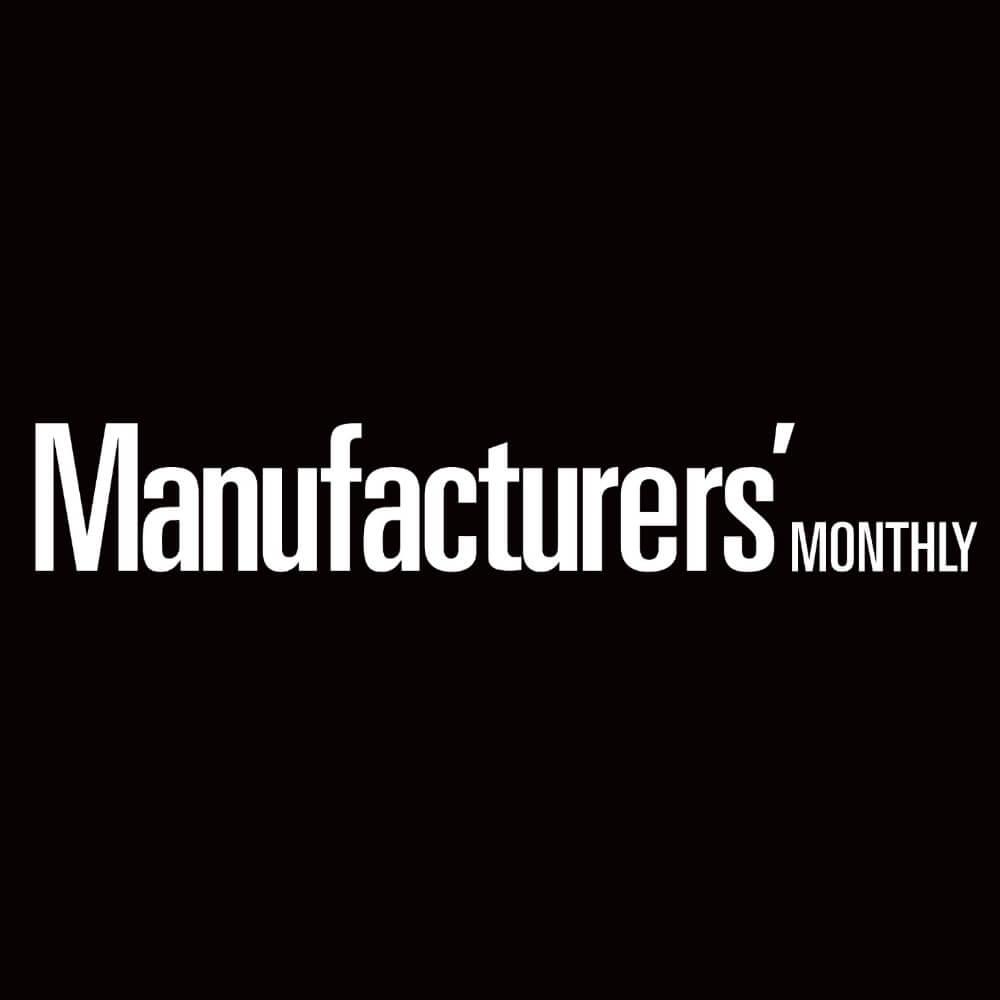 Fibreglass factory burns at Welshpool