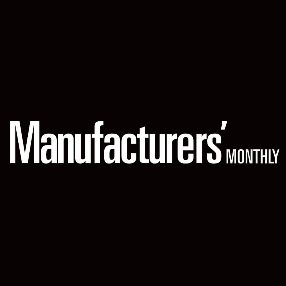 Manitou detachable fork clamp lifts drill rods