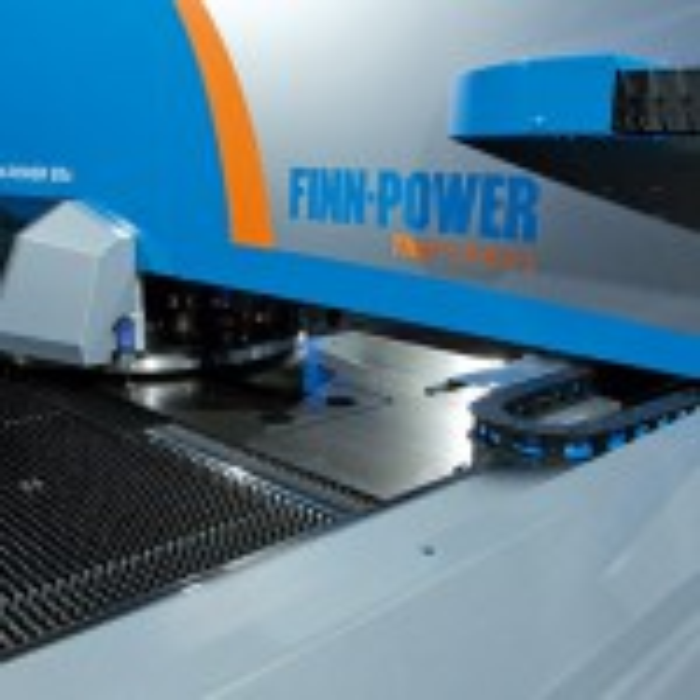 Maxitec distributing Finn-Power electric turret punch press