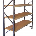 Improved efficiency and profitability in long span shelving