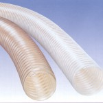 Lightweight clear PVC ducting