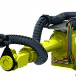 No stress cables for industrial robots