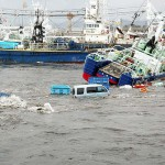Cars, ships totaled in Japanese tsunami 2011 [VIDEO]