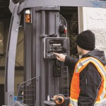 Forklifts, mobile device management, and safety