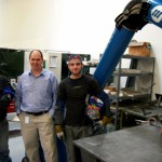 Welders' safety boosted with new fume extraction installation