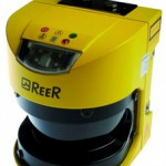 Safety laser scanner for accident prevention