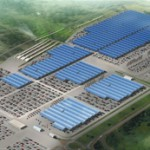 Solar automotive factory world's largest