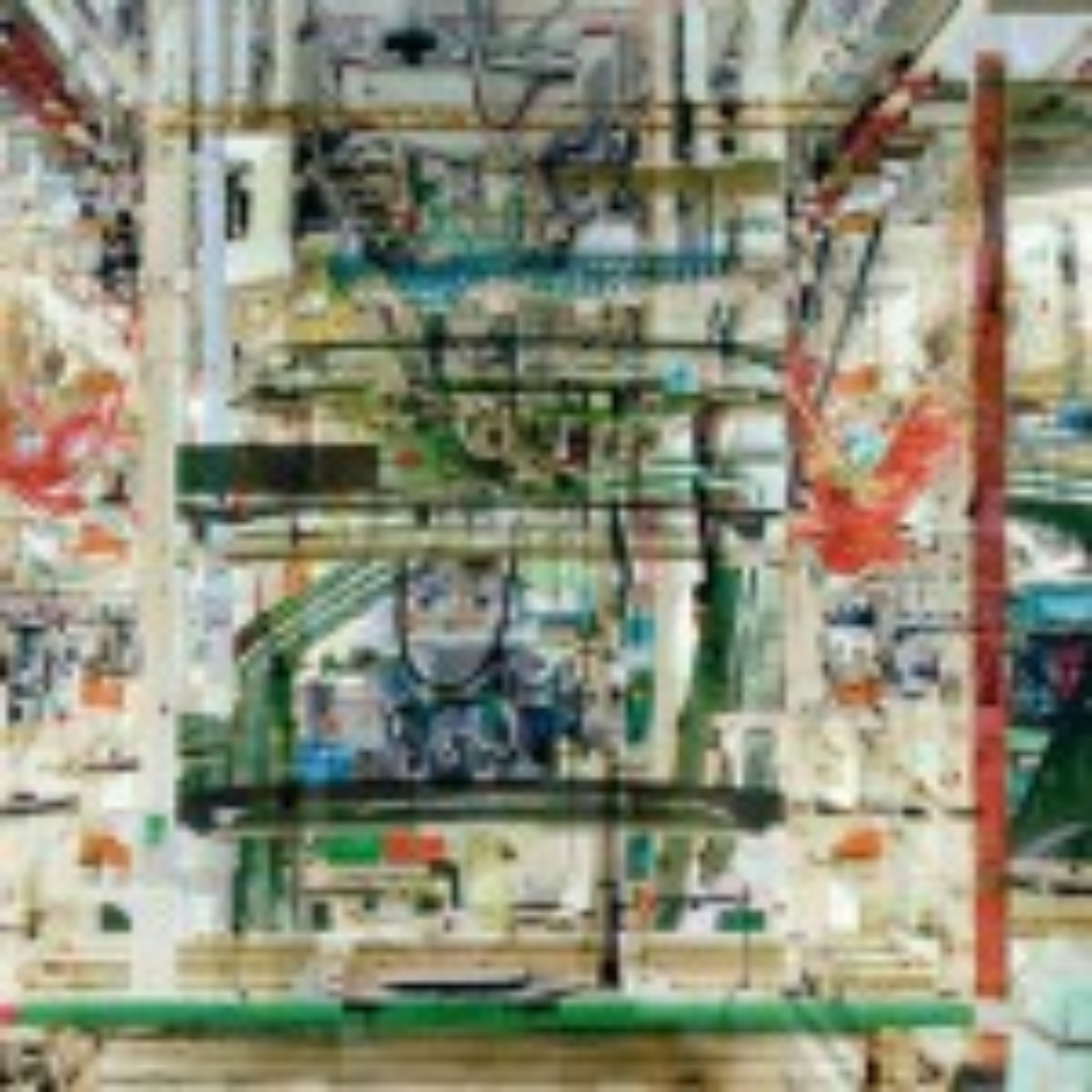 Toyota 'fantasy factory' becomes art