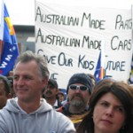 'Shame Bosch shame': 300 workers rally outside Clayton factory