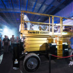 Scissor lift a star attraction at 50-year celebration