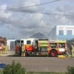 Fabricator company suffers suspicious factory fire