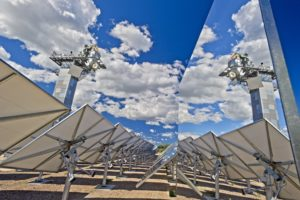 CSIRO's solar thermal research facility in Newcastle.