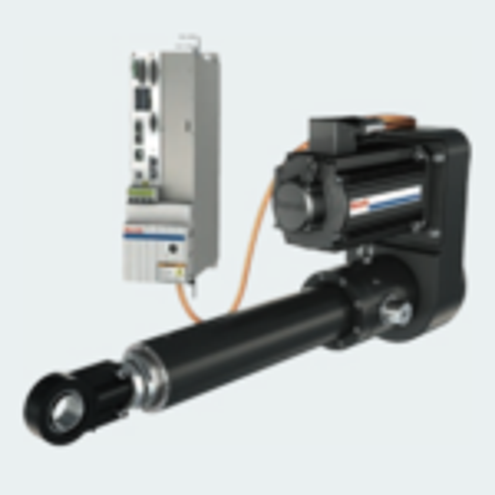 EMC-HD electromechanical cylinder: moving extreme loads with less energy