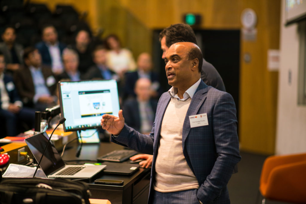 Professor Gangadhara Prusty, director of UNSW's ARC Training Centre for Automated Manufacture of Advanced Composites (AMAC) talked about the centre's capabilities.