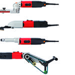 Suhner's new hand tools for quick metal finishing