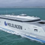 Catamaran sets shipbuilder record