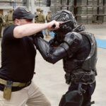 Training armour maker collaborates with VR platform