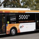 5000th bus manufactured at Victorian site
