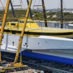 Australian-made trimaran nears completion