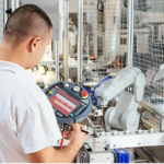 Collaborative robots: designing for productivity and safety