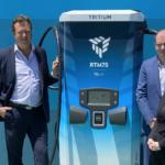 Tritium unveils word-first scalable EV charging platform