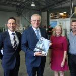 PM promotes Australian Made