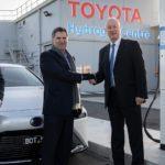 New hydrogen-powered Toyota Mirai FCEV leased to CSIRO