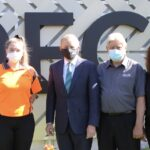 Federal opposition leader visits DECO manufacturing facility