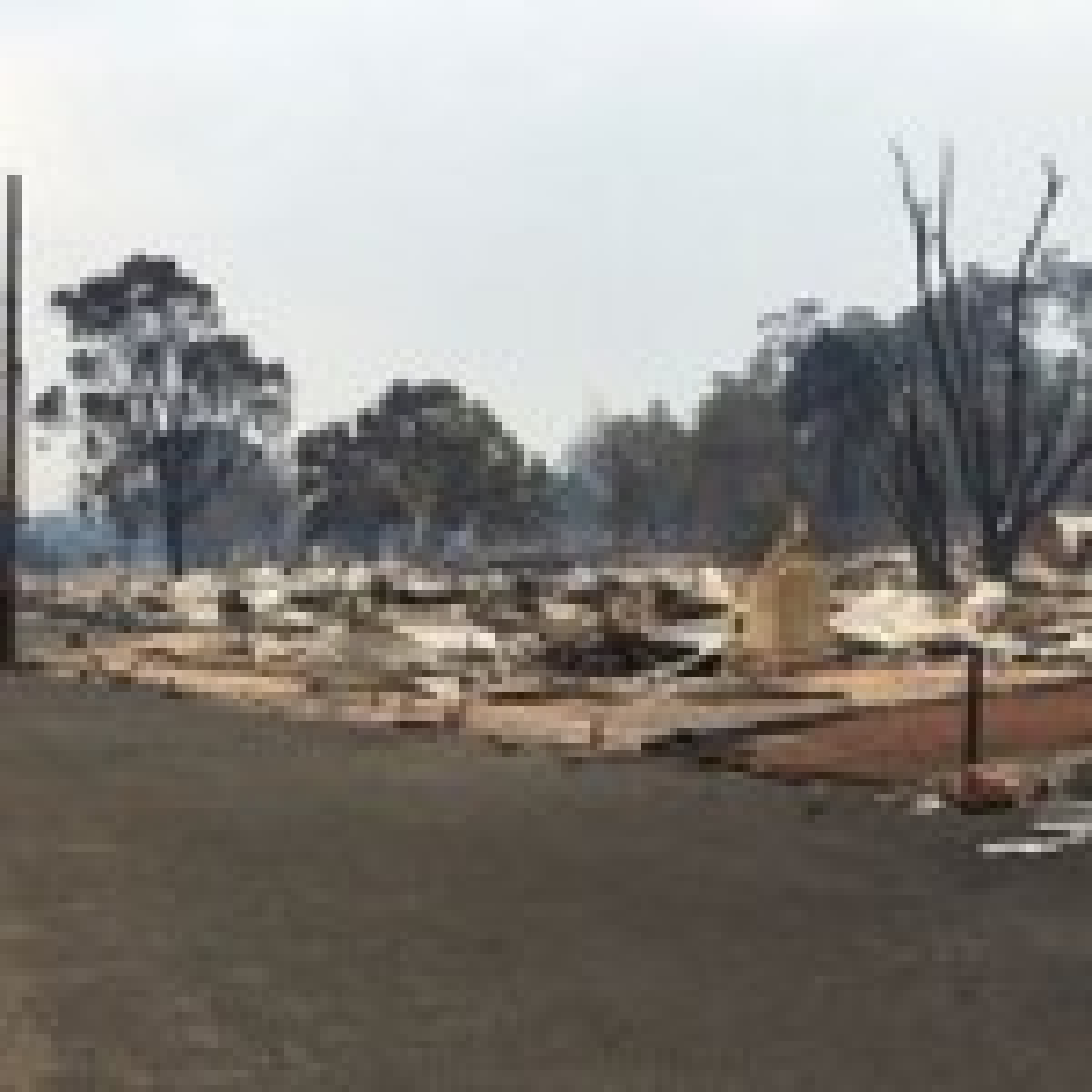 Alcoa won't rebuild houses destroyed in WA bushfire