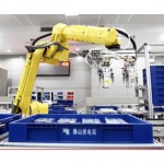 Chinese electronics factory prepares to be run by robots