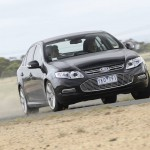 Ford 'fuel efficient' EcoBoost Falcon rolls off production lines in Victoria
