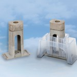 Adhesive-bonded fastener secures aircraft