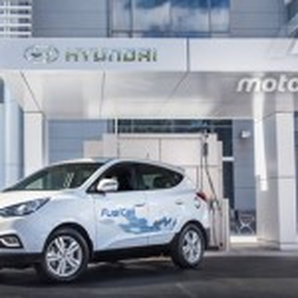 Hydrogen car refuelling station opens in Sydney