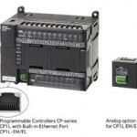 OMRON controller offers built-in Ethernet