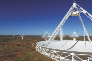 Since the dawn of radio astronomy, Australia's observatories – in Parkes, Narrabri and now Western Australia – have been used by researchers from around the world (Credit: CSIRO)