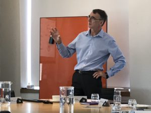 Professor Graham Wren joins a manufacturing roundtable at the University of Technology Sydney business school.